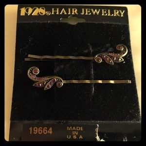 1928 Hair Jewelry Bobby Pins
